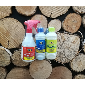 123 products schoonmaken